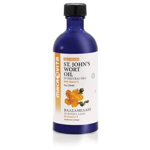 MACROVITA OLEJ Z DZIURAWCA w naturalnych olejach tłoczony na zimno z witaminą E 100ml