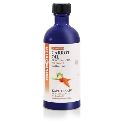 MACROVITA OLEJ Z MARCHWI w naturalnych olejach - tłoczony na zimno z witaminą E 100ml